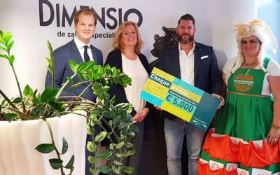 Dimensio doneert 5000 euro!